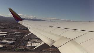 Southwest Airlines takeoff at Las Vegas, Nevada