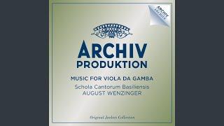 Marais: Pieces à une et a à deux Violes - Pieces à une et a à deux Violes (15 Variations)