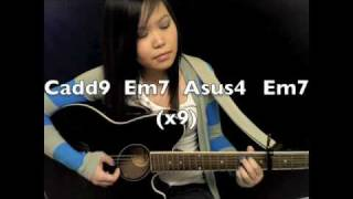 """Butterfly Fly Away"" - Miley Cyrus EASY Guitar Tutorial/Chords"