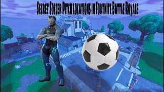 New Secret Soccer Pitches in Fortnite Battle Royale!!