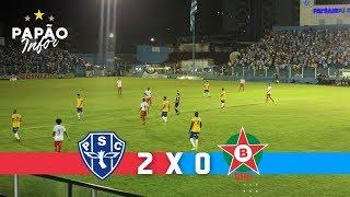 Paysandu 2 x 0 Boa Esporte (Melhores Momentos)