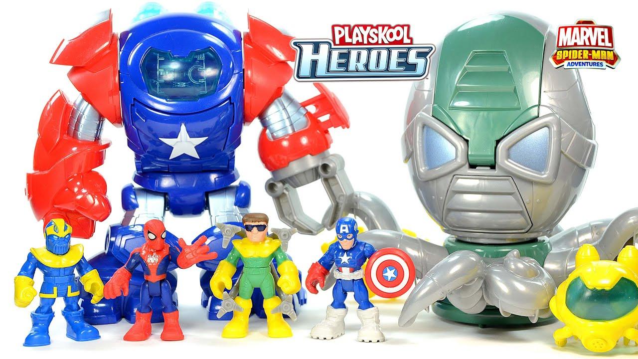 Playskool Heroes Marvel Super Hero Adventures Doc Ock Octo-Mech