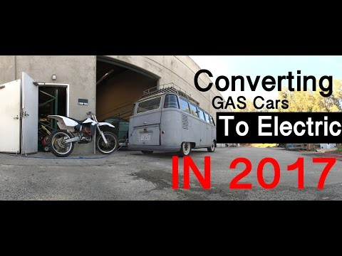 Converting Gas Cars TO ELECTRIC in 2017 - Vlog 1