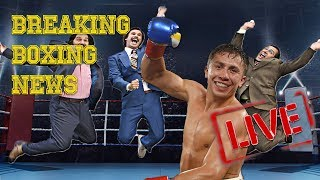 Breaking Boxing News | Canelo vs. Golovkin Rematch is OFFICIALLY ON! | BOXCASTER