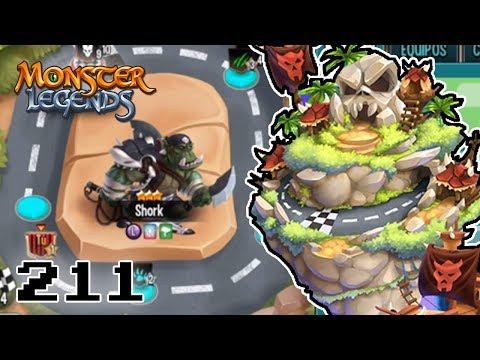 CARRERA DE EQUIPOS 7 MARES! A POR SHORK! - Monster Legends #211