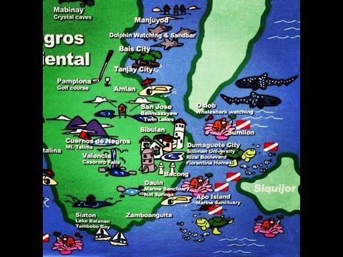 Map Of Negros Island Philippines