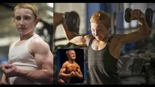 Jake Schellenschlager 14 Year Old Powerlifter & Bodybuilder!