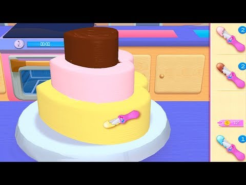 Fun Cake Cooking Game - My Bakery Empire Bake, Decorate & Serve Cakes Games for Girls To Play