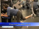 iWorkout - S & C Zone Equipment - Lower Body Room - Glute Eagle, UCLA