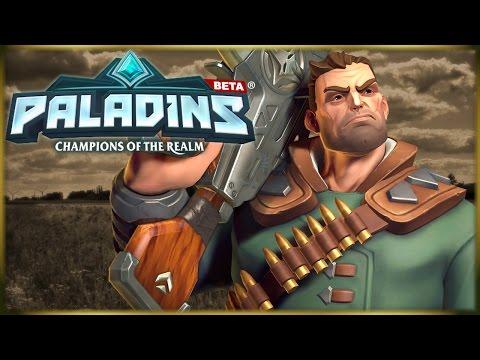 Thet Plays Paladins Beta: Viktor - Captain Call of Duty