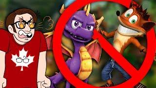 No More Crash and Spyro Remakes. Please.