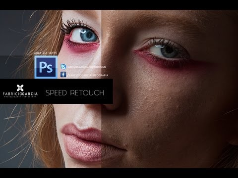 Speed Portrait Retouching (#Photoshop Cs6  |  #Photoshop CC)