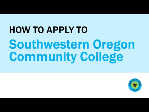 How to Apply to Southwestern Oregon Community College