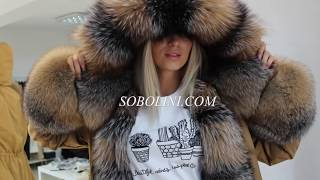 Exclusive parks with natural fur! Fashion of Ukraine 2018