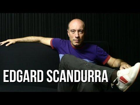 Com EDGARD SCANDURRA - da banda IRA