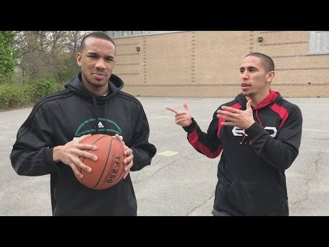 Playing H.O.R.S.E. with NBA Star Avery Bradley!