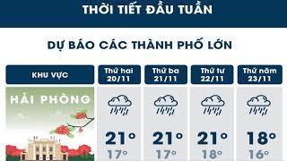 Tin Tức 24h Channel - Dự báo thời tiết 20 tháng 11 / Áp thấp gây mưa lơn từ quảng nam đến bình thuận