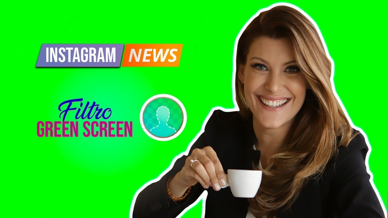 FILTRO NOVO DE GREEN SCREEN NOS STORIES DO INSTAGRAM! Vc terá como gravar Stories com Chroma Key!