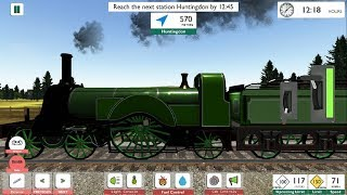 Best Train Games for Android 2018 | Classic Train Simulator: Britain - Android GamePlay & Game Video
