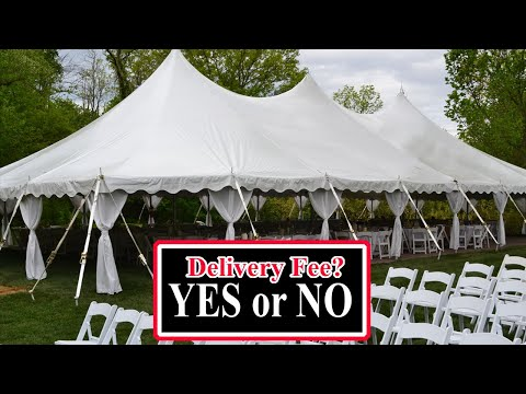 Start a Party Rental Business- Delivery fee or no Delivery fee?