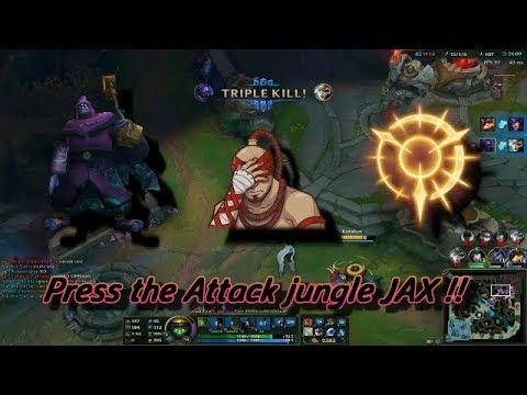Baka Play 8 Temple Jax Jungle Press The Attack Youtube
