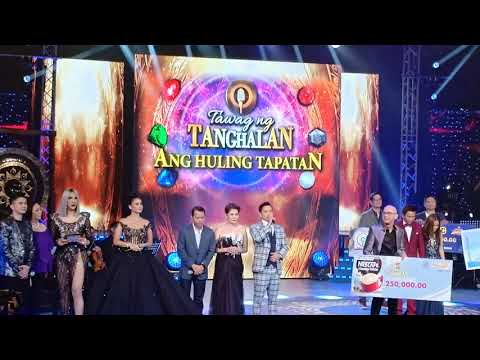 DESERVING! Tawag Ng Tanghalan Winners Announcement - JANINE BERDIN Grand Winner
