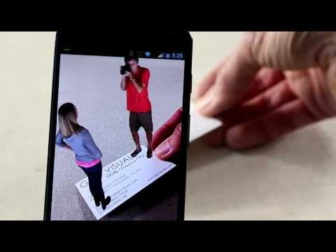 Photographer Augmented Reality Business Card