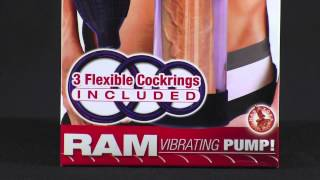 Ram Vibrating Master Penis Pump : NW2417 :