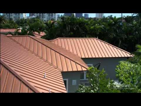 Terra Cotta Color Metal Roof - ExclusiveRoofing