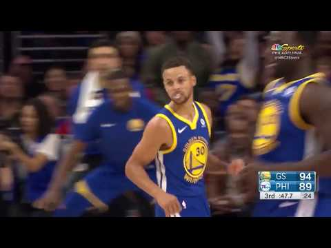 Golden State Warriors vs. Philadelphia 76ers - November 18, 2017