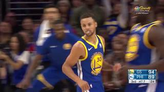 Golden State Warriors vs. Philadelphia 76ers - November 18, 2017