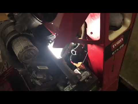 How To Service A Toro Stx26 Stump Grinder  Buy Toro Grinder Parts Https://torostumpgrinderparts.com/