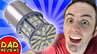 LED LIGHTS FOR RV INTERIOR | RV Light Bulb Replacement | Cargo LED Lights Unboxing & Initial Review