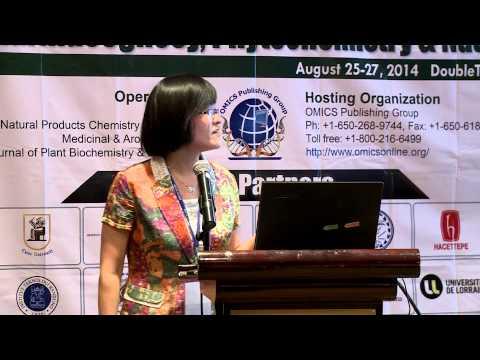 Haixia Chen | Tianjin University | China | Pharmacognosy 2014 | OMICS International