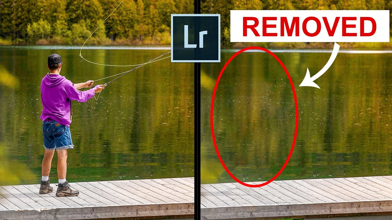 Remove Anything in Lightroom - Spot removal Lightroom Tutorial