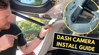 How To Install a Dash Camera, Tips & Tricks on Hardwiring a Thinkware Dash Camera