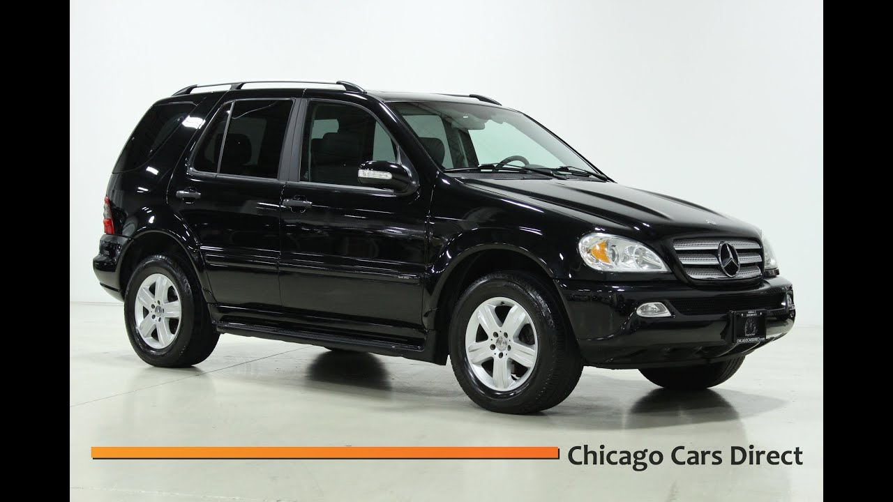 chicago cars direct presents a 2005 mercedes benz ml350 4matic in high definition