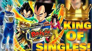 I AM THE KING OF SINGLE SUMMONS   Transforming Vegeta Summons   DragonBall Z Dokkan Battle thumbnail