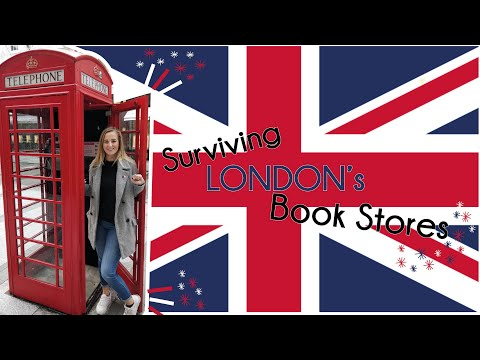🏴📚 Surviving London And It's Book Stores