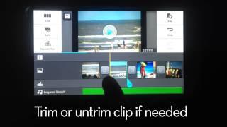 Компанія LG редакторі відео підручник