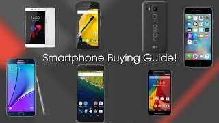 Ultimate Smartphone Buying Guide! (Late 2015)
