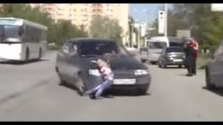 Подборка аварий с пешеходами. Сбитые пешеходы.