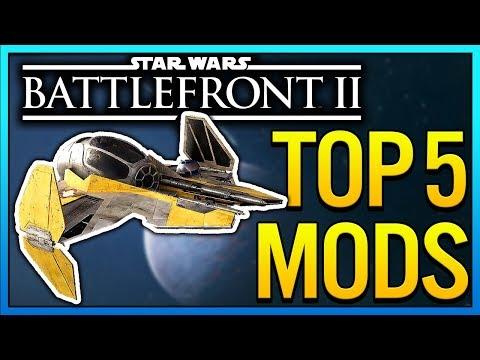 TOP 5 MODS OF THE WEEK - Star Wars Battlefront 2 Mod Showcase #2