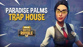 Paradise Palms Trap House - Fortnite Battle Royale Gameplay - Ninja