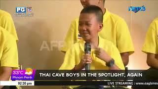 Thai cave boys in the spotlight, again