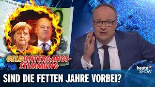WIRTSCHAFTSKRISE!? Die große Panikmache | heute-show vom 17.05.2019