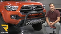 How to Install Westin Ultimate LED Bull Bar on a 2016 Toyota Tacoma