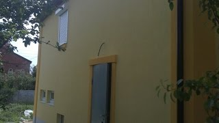 Отделка фасада современного дома штукатуркой(В видео представлена отделка фасада современного дома штукатуркой. Качественные услуги заказывайте в..., 2014-12-10T22:12:33.000Z)