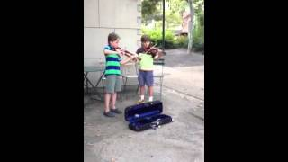 1st time Busking (2014-08)