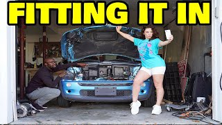 Restoring my dead Mini Cooper with a $200 electric motor